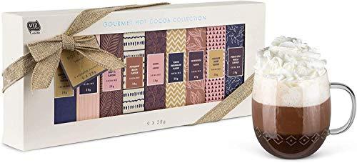 Modern Gourmet Foods Hot Chocolate Kakao-Geschenkset - Set mit neun Geschmacksrichtungen