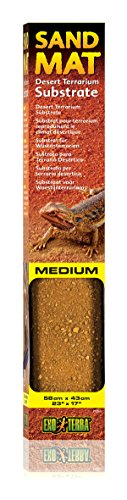 Exo Terra Sand Matte medium 43 x 58 cm - Sandmatte für Wüstenterrarien