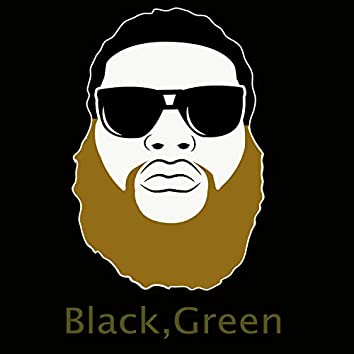Black, Green