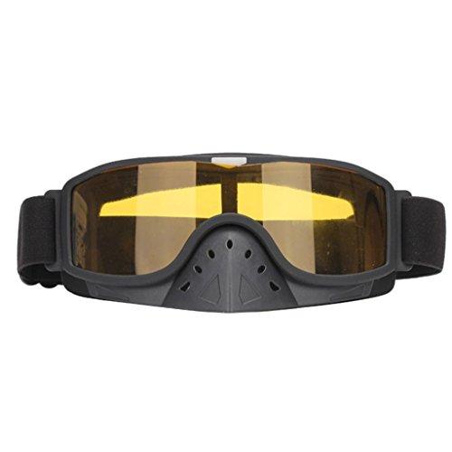 Sportbrillen veiligheidsbrillen, voorruit, kop-aangebrachte glazen, veiligheidsbril voor motorfietsen, explosieveilig materiaal.