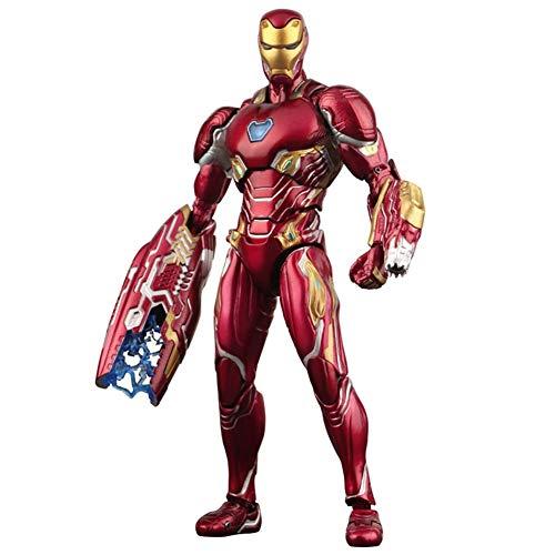 6.3 Pulgadas de Marvel Infinity War Titan Hero Series Iron Man MK50 Modelo de muñeca Hecha a Mano Juguetes para niños de Regalo Carácter de superhéroes