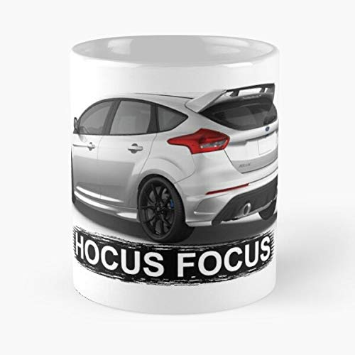 5TheWay Focus Mug Rs Ford Funny Best 11 oz Kaffeebecher - Nespresso Tassen Kaffee Motive