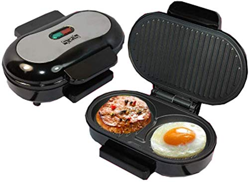 Big Save! FACAI Grill Machine, Panini Maker Sandwich Maker with 2 Removable Drip Tray Non-Stick Coat...