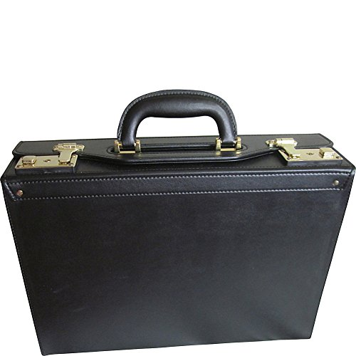 amerileather leather briefcases Amerileather Bryn Microfiber Faux Leather Academy Case (#2897-9)