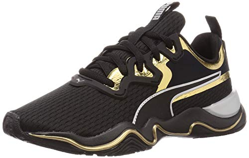 Puma Damen Zone Xt Metal WN's Sneaker, Schwarz Black-Gold, 38 EU