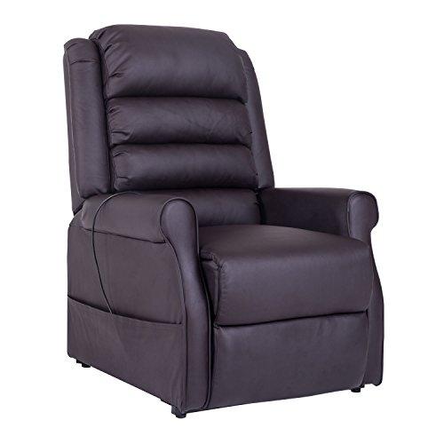 HOMCOM Massagesessel Elektrischer Relaxsessel Fernsehsessel mit...