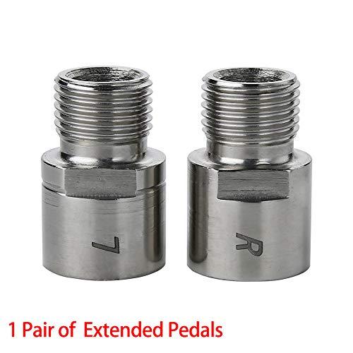 """Eribell7 1 Paar Fahrrad Pedal Extenders Fußpedal Extenders Bike Pedal Extender 9/16\"""" Pedal Adapter Distanzhalter für jedes Fahrrad SPD MT MTB BMX Road Street Fahrrad"""