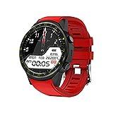 QAK Hombre Smart Watch SIM Tarjeta Cámara F1 Smart Watch Detección De Tarifas Cardíaca Ejercicio GPS Teléfono Móvil Conectado Reloj Android iOS Reloj,A