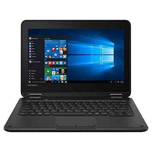 2019 New Lenovo 300e Flagship 2-in-1 Business Laptop/Tablet, 11.6' HD IPS Touchscreen, Intel Celeron Quad-Core N3450 up to 2.2GHz, 4GB DDR4, 64GB eMMC, Windows 10 S/Pro, Choose Flash Drive