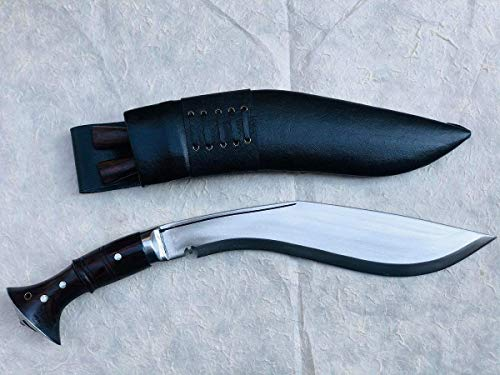 Authentic Gurkha Knife - 12' Blade World War II 'The Survival Alive' Kukri Full Tang with Black...