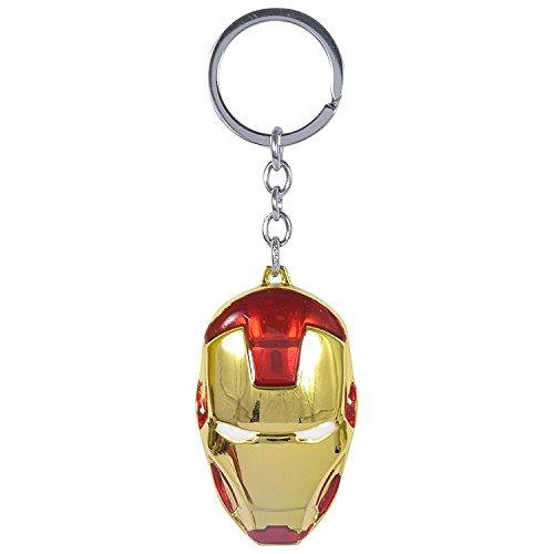 Stunning Marvels / Avengers Iron Man Metal Keychain (Iron Man FACE)