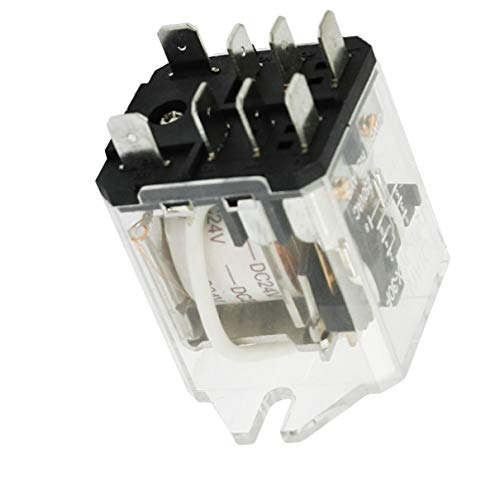 Aexit JQX-30F-2Z Coil Voltage DC 24V 8 Pin (model: Q3815VIIII-2019RV) DPDT Electronmagnetic Relay