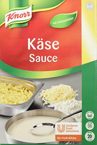 Knorr Käse Sauce (cremige Konsistenz, abgerundeter Käsegeschmack) 1er Pack (1 x 3 kg)