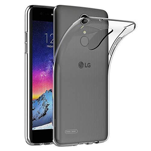 Mb Accesorios Funda Carcasa Gel Transparente para LG K4 2017/K8 2017, Ultra Fina 0,33mm, Silicona TPU de Alta Resistencia y Flexibilidad