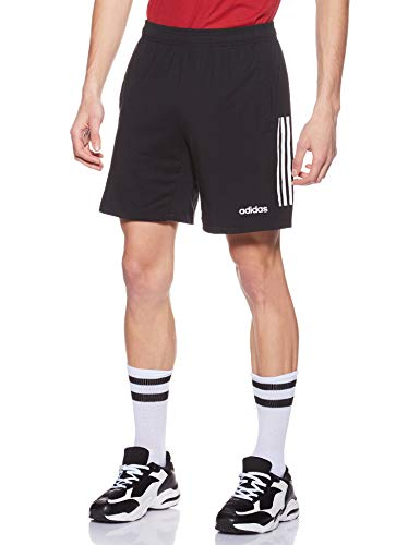 adidas Herren Motion Pack Tech Cotton Shorts, Black/White, M