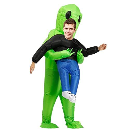 FARONG Aufblasbares Kostüm für Erwachsene, Kostüm Cosplay Outfit, Halloween Karneval Kostüme Erwachsene,Aufblasbares Kostüm für Erwachsene, Super Lustig, Geeignet für Partys, Shows. (150-190cm)