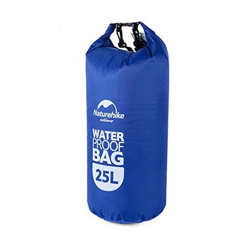 TRRE Voyage en plein air sacs étanches sac dérivantes snorkeling plage natation sac, 25L ( Couleur : Bleu )