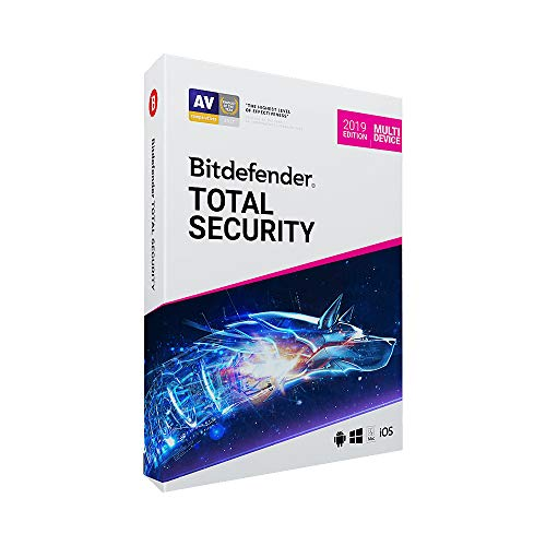 Bitdefender Total Security 2020-5 dispositivos, 1 ano (Digital - Via Download)
