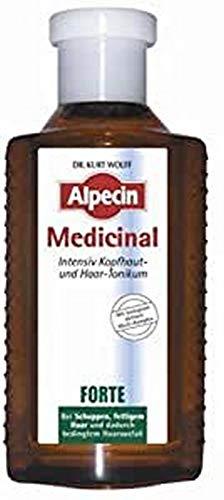 Alpecin Medicinal FORTE - Intensiv Kopfhaut- und Haar-Tonikum bei Schuppen, fettigem Haar und dadurch bedingtem Haarausfall - 1 x 200 ml