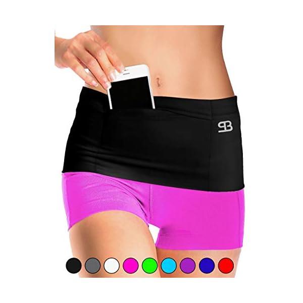 Stashbandz Unisex Running Belt Waist Pack, Insulin Pump Belt, Travel Money Belt,...