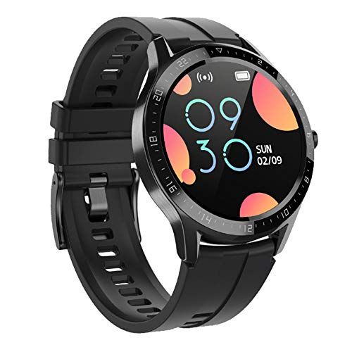 WEINANA Mujeres Smart Watch Men Fitness Tracker Bluetooth Impermeable Smart Deportes Pulsera Llamada Recordatorio SmartWatch(Color:A)