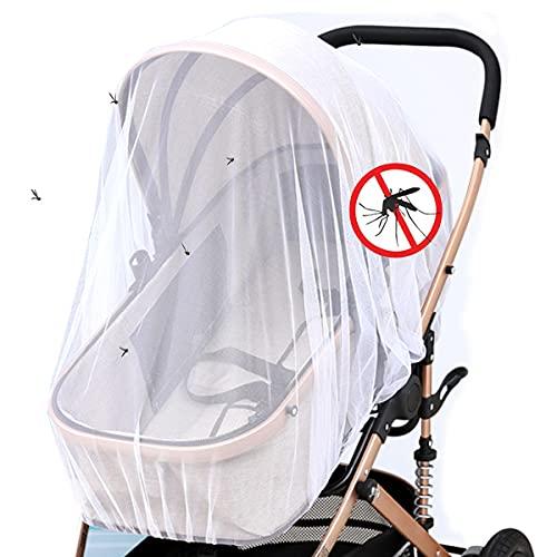 O³ Moustiquaire Cosy Universel | Moustiquaire Poussette Universel | Protection Anti-insecte Siège Auto | Filet Anti Moustiques élastique