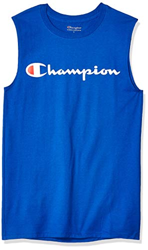 Champion Men's Graphic Jersey Muscle, surf The Web, Medium