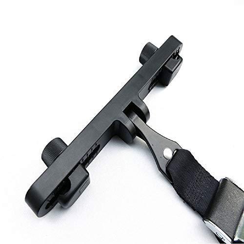 Maso Kit de fijación universal, anclaje para silla de coche infantil, para conector de cinturón de seguridad sistema Isofix