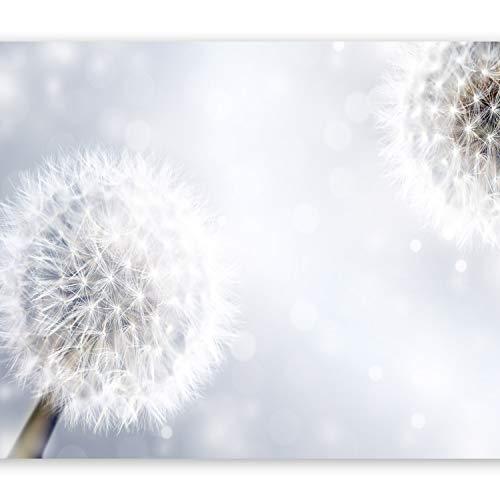 murando Fototapete Blumen 350x256 cm Vlies Tapeten Wandtapete XXL Moderne Wanddeko Design Wand Dekoration Wohnzimmer Schlafzimmer Büro Flur Pusteblume 10110906-56