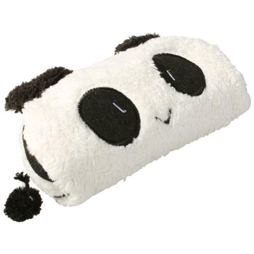 Qianghong école Fournitures de bureau mignon Maquillage peluche Panda Crayon Pen Case Bag Cosmetic Bag