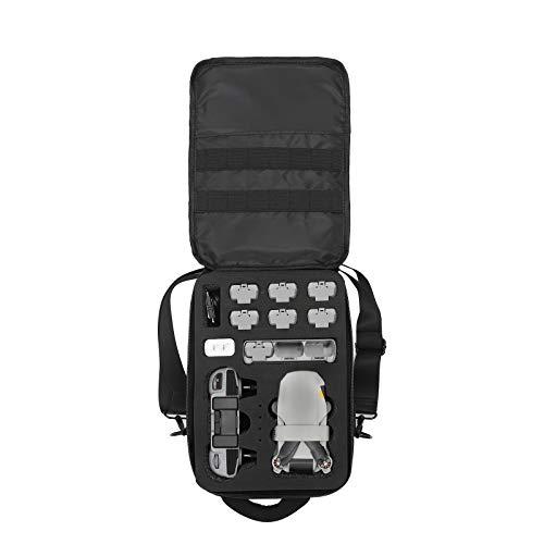 Hunpta @ Tragbar Tasche für DJI Mavic Mini 2, wasserdichte Langlebig Aufbewahrung Rucksack Umhängetasche Drohne Erweiterung Aufbewahrung Zubehör
