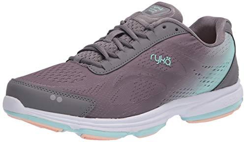 Ryka womens Devotion Plus 2 Walking Shoe, Quiet Grey, 9 US