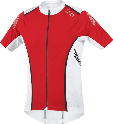 GORE WEAR Herren S Trikot Xenon, Red/White, XL