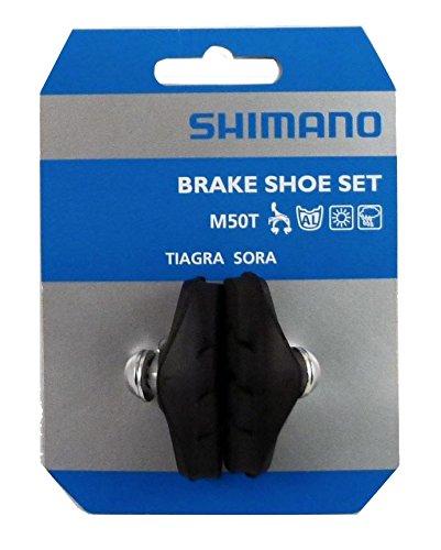SHIMANO M50T Bremsschuhe, Schwarz, 60 mm