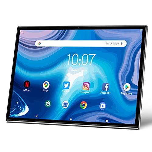 Pritom TronPad Tablets - 10'' Android 10.0 Tablet, Octa-Core Processor, 3G RAM, 32G ROM, 6000mAh Battery, 5G&2.4G WiFi, GPS, Dual Camera, USB C Tablet PC, Full Metal Body