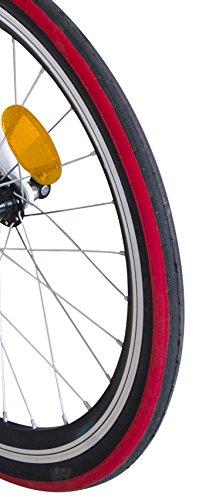 Ecosmo 20AF09BL - Vélo de ville pliant 20' en alliage léger, 12kg