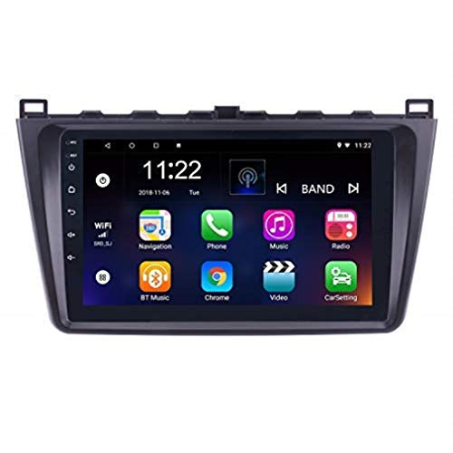 9 Inch Android 8.1 Touchscreen GPS Navi Stereo for Mazda 6 2008-2015 with WiFi Bluetooth Music USB Support Dab SWC DVR