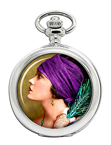 Gloria Swanson Full Hunter Taschenuhr