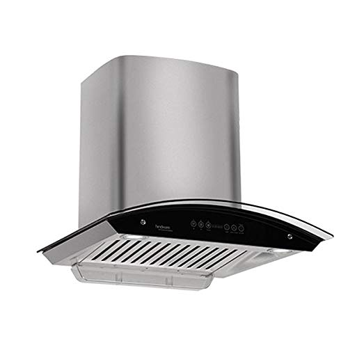 Hindware Oasis ss 60  motion sensor with motion senser Auto Clean Wall Mounted Chimney(ss 1200 CMH)