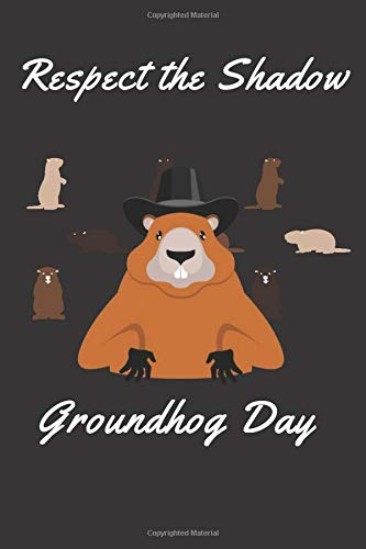 What Day Is It ?Groundhog Day: Lined Notebook / Journal Gift Matte cover SIZE - 6 X 9 PAGES - 122