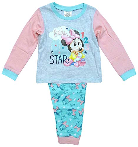 Conjunto de pijama de Minnie Mouse Disney para bebé niña de algodón de 18 a 24 meses