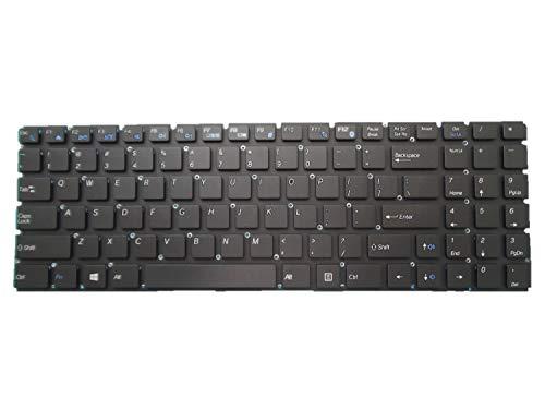 Teclado para portátil Purism Librem 15 V1 versión 1 VER1 Ultrabook Notebook Negro Inglés US
