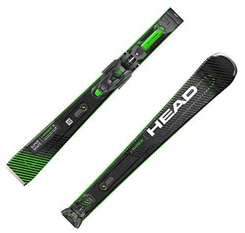HEAD Skier Supershape e-Magnum SW SF-PR+ PRD12 schwarz/rot (701) 170