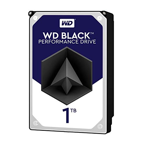 WD Black 1TB Performance Desktop  Hard Disk Drive - 7200 RPM SATA 6 Gb/s 64MB Cache 3.5 Inch