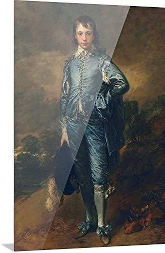 GREATBIGCANVAS The Blue Boy, c.1770 High Definition Acrylic Wall Art Print, 12'x18'