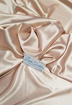 Levi Textiles INC Stretch Imitation Silk Satin Charmeuse - 2 Way Slight Stretch- 58/60  - Sold by The Yard  #57 - Nude