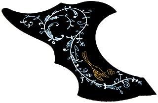rosenice Golpeador guitarra ac/ústica placa de /égratignure auto-adh/ésive protecci/ón de Golpeador anti-/éraflure para la guitarra Folk
