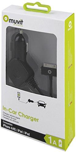 ∙MUDCC0092 oplader voor mobiele auto zwart - opladers voor mobiele apparaten (auto, sigarettenaansteker, 5 V, 1 A, zwart)