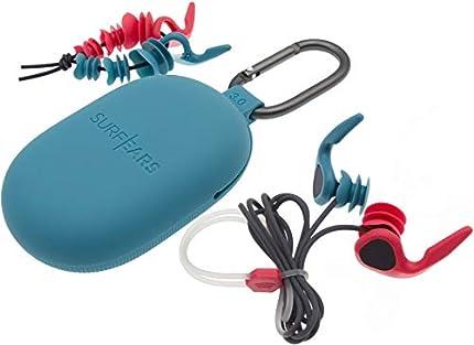 Surf Ears 3.0 Tapones para Deportes acuáticos y de oleaje. Revolucionarios - Permite Escuchar y Conversar - SurfEars 3 Oreja Enchufe Surf Piscina Natación Marina