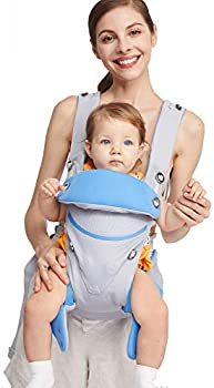 Adjustable Ergonomic Newborn to Toddler Front & Back Baby Carrier